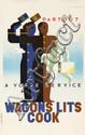 Wagons Lits Cook. 1933