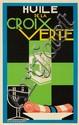 Huile de la Croix Verte. 1925