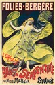 Folies-Bergére / Miss Mabell Stuart. ca. 1890