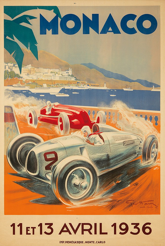 Monaco / 11 et 13 Avril 1936. 1936