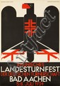 Landesturnfest / Bad Aachen. 1934