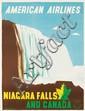 American Airlines / Niagara Falls.  ca. 1948