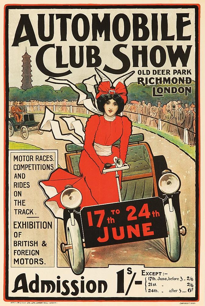Automobile Club Show.  ca. 1900