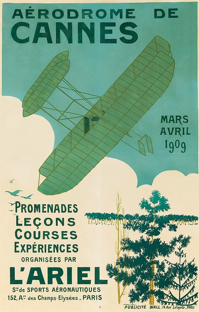 Aérodrome de Cannes. 1909