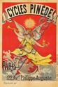 Cycles Pinède. ca. 1897