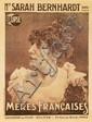 Sarah Bernhardt / Mères Francaises. 1917