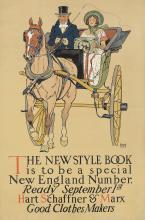 Hart Schaffner & Marx / New Style Book. 1910.