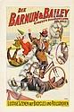 Barnum & Bailey / Lustige Szenen auf Bicycles. 1900