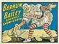 Barnum and Bailey / Greatest Show on Earth. 1917