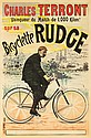 Charles Terront / Bicyclette Rudge. 1894