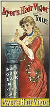 Ayer's Hair Vigor. ca. 1886