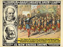 Barnum & Bailey / The Famous Metropolitan Juvenile Fife and Drum Corps. ca. 1903