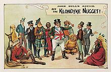 Klondyke Nugget / John Bull's Advice. 1898