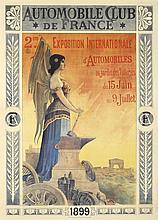 Automobile Club de France / 2eme. Exposition Internationale.  1899