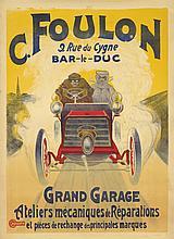 C. Foulon / Grand Garage. ca. 1904