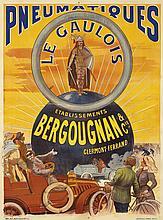 Pneumatiques Bergougnan / Le Gaulois.  ca. 1905