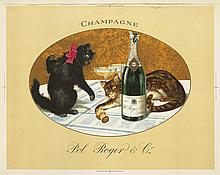 Champagne Pol Roger. ca. 1921