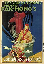 The Great Chang presents Fak-Hong's Japanesse Review. ca. 1923