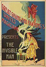 Great Chang and Fak-Hong's / The Invisible Man. ca. 1922