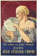 Elida Creme. ca. 1927