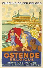 Ostende Belgique. 1929