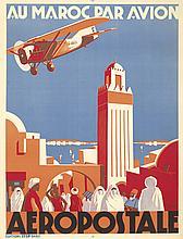 Aeropostale / Au Maroc Par Avion. 1930