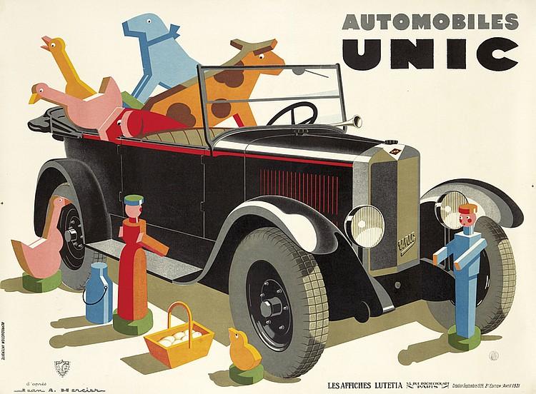 Automobiles Unic. 1931