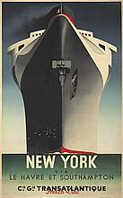 Normandie / New York.  1935