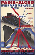 Paris-Alger. ca. 1935