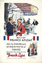 French Line / France Afloat. 1933