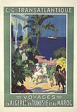 Voyages en Algérie en Tunisie et au Maroc. ca. 1910