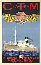 Cie. de Transports Maritimes de l'A.O.F. ca. 1930