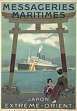 Messageries Maritimes / Japon-Extrême-Orient. 1920