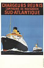 Chargeurs Réunis / Sud-Atlantique. ca. 1925