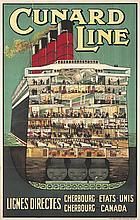 Cunard Line / Lignes Directes.
