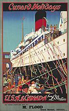 Cunard Holidays / U.S.A. & Canada. ca. 1935