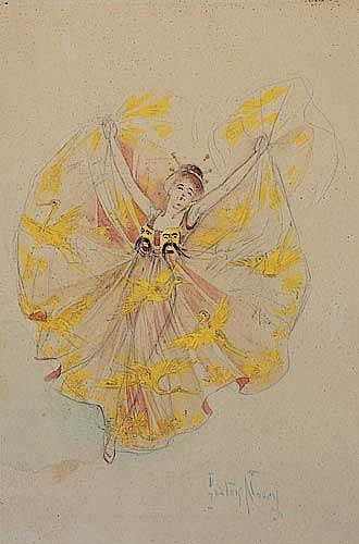 Loie Fuller/Vol Oriental.