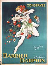 RARE Original 1940s CAPPIELLO Poster Barbier Dauphin