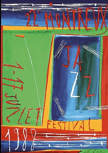 Original MontreuxJazz Festival Poster Plakat
