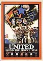 Rare Original USA World War I Poster Baker United, Ernest Hamlin Baker, Click for value