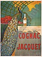 Original French Liquer Ad Poster Cognac Jacquet, Camille Bouchet, Click for value