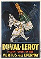 Great Original 1920s French Poster Duval Leroy SEPO, Severo Pozzati, Click for value