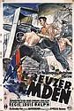 Original 1930s German Marines Film Poster Kreuzer Emden, Theo Matejko, Click for value