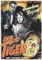 Original German 1951 Humphrey Bogart The Enforcer Film Poster German Plakat, Hans Bohrdt, Click for value