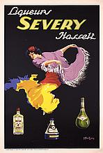 Original 1920s/30s French Severy Liqueur Advertising Poster
