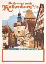 Original Vintage 1930s German Travel Poster SUCHODOLSKI