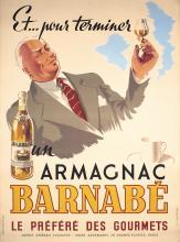 Original Vintage 1930s French Liquor Advertising Poster