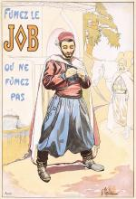 Original Vintage 1910s LE JOB French Advertising Poster