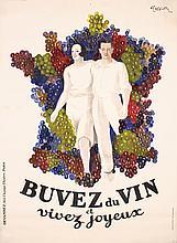 Original Vintage 1930s CAPPIELLO French Wine Poster