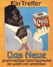 Original 1910s German Advertising Poster BLACK INTEREST